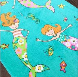 $enCountryForm.capitalKeyWord Australia - Free Shipping New Carton Microfiber Children Baby Bath Towel Quick Dry Highly Absorbent Kids Beach Towel