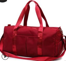 $enCountryForm.capitalKeyWord NZ - 2019 European and American brand new shoe position wet and dry separation sports female yoga fitness bag large capacity travelling bag sport