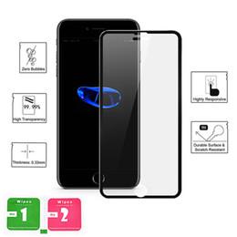 $enCountryForm.capitalKeyWord Australia - SZAICHGSI Aluminum alloy 3D Tempered Glass For iphone 8 8 Plus Full Screen Protector For Apple iphone 7 7 plus Protective Guard Film Glass