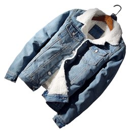 $enCountryForm.capitalKeyWord UK - iSurvivor 2019 Men Winter Autumn Denim Jeans Jackets Coats Cardigans Streetwear Male Casual Fashion Slim Fit Thick Fleece Jacket