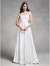 $enCountryForm.capitalKeyWord Australia - 2019 Light Wedding Dresses New Design Brides Dresses Beautiful Floor Length Wedding Gowns Chinese Factory High Quality Man Made