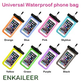 $enCountryForm.capitalKeyWord Australia - Camouflage Waterproof Bag Water Proof Bag armband pouch Cover For Universal water proof cases all iphone 7 Cell Phone bag DHL free shipping