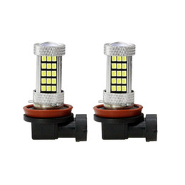 motorcycle drl NZ - 2x H8 H11 LED Fog Light High Power HeadLight Bulb 12V 63SMD 2835 50W Bright White DRL Fog Lamp For Motorcycle Car Accessories