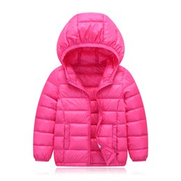 Parkas For Winter Australia - good qulaity 2018 children's winter jackets kids duck down coat baby winter jacket for girls parka outerwear hoodies boy coat