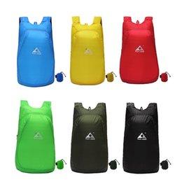 Folding Art Table Australia - Designer- Lightweight Nylon Foldable Backpack Waterproof Backpack Folding bag Ultralight Outdoor Pack for Women Men Travel Hiking