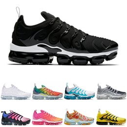 classic football sale Australia - Hot sale chaussures Womens Sneakers Classic Tn Women Running Shoes Black Red White Sports Trainer Woman Surface Rainbow outdoor Shoes