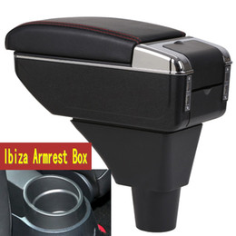 $enCountryForm.capitalKeyWord Australia - For Seat ibiza armrest box central Store content Storage box Seat armrest with cup holder ashtray USB interface