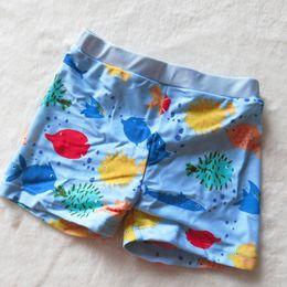 Swimwear Infant Australia - Baby Boys Swimsuit Kids Swimwear Infant Boy Swimming Trunks Toddler Child Cartoon Swimwear Fish Baby Boy Swimsuit Swim Shorts