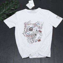 $enCountryForm.capitalKeyWord Australia - 19ss summer new constellation series Scorpio short sleeve T-shirt, Gothic style, soft and comfortable, skin refreshing, silky start