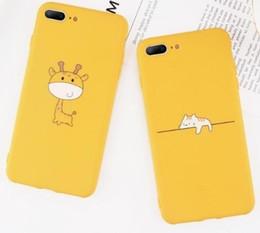$enCountryForm.capitalKeyWord NZ - Animal Phone Case For Iphone Xr Xs Max X 8 7 6 6s Plus 5 5s Se Cute Pineapple Dog Giraffe Print Soft Tpu Cover