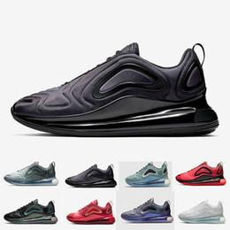 72e0185c20d 720 hommes femmes chaussures de course Northern Lights Night Triple Black  Eclipse totale Cool Grey Metallic Silver Trainer Sport Sneaker pas cher