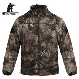 Uv protection clothing online shopping - Mege Brand Clothing Summer Men Jacket Tactical Camouflage Military Ultra Light UV Sun Protection Breathable Fast Dry Casual SH190918
