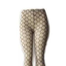 Acrylic Leggings Australia - Letter Design Women Pantyhose High Quality European and American Pantyhose 3 Size Acrylic Leggings With Box