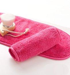 40 * 18 cm super macia removedor de maquiagem toalha reutilizável maquiagem toalha de borracha de alta qualidade removedor de toalhitas wipes sem necessidade de óleo de limpeza