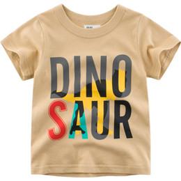 $enCountryForm.capitalKeyWord Australia - 1-10T Letter Print Baby Kids T Shirt for Summer Cotton Boys Girls Short Sleeve T-shirt Tee Tops Casual Round Neck Tees Clothing
