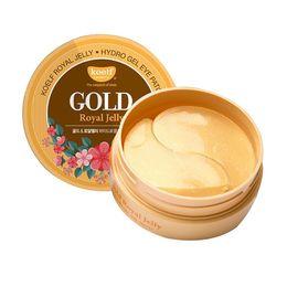 $enCountryForm.capitalKeyWord Australia - Best Cosmetic KOELF Gold Royal Jelly Hydro Gel Eye Mask Patch 60pcs Smooth And Firm Skin Eye Mask
