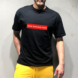 Discount round collar shirt men - 2019 New Men T shirt Summer Promotions fashion Hip-Hop Shirt Round collar short sleeve T-shirt fashion wholesale short s