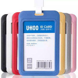 $enCountryForm.capitalKeyWord Australia - PP Exhibition Cards ID Card Holder Business card holder Name Tag Staff Employee Business Badge Holder Office Company Supplies Stationery