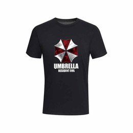 $enCountryForm.capitalKeyWord UK - Pure 100% Cotton Short Sleeve Resident Evil Printed Funny Men Tshirt Casual O-neck Loose Summer T Shirt for Men Tops Tees