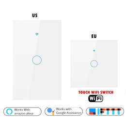 $enCountryForm.capitalKeyWord Australia - Smart Life Light Switch Touch Wifi Switch 1 2 3 Gang Light US EU Standard Work with Alexa Google Home Automation Module