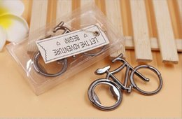 bicycle opener 2020 - Vintage Metal Bicycle Bottle Opener Wine Beer Bottle Opener For Cycling Lover Wedding Favor Party Gift Present two color