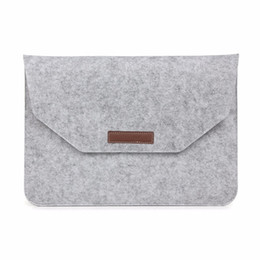 eco friendly notebooks NZ - Felt Cover Notebook Liner Sleeve 13.3 inch Bag For Macbook air 13 Case Laptop Cover For Mac book air 13