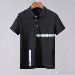 Hand Painted Mens T Shirts Australia - fashion mens polo tops 2019 Brand New Summer t shirts men poloshirt shirt High street men's polos 12