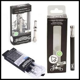 Vapor kit packaging online shopping - New Package Heavy Hitters Vapor Cartridges ml Ceramic Coil ml Disposable Vape Pen Kit for Thick Oil Vaporizer Vape