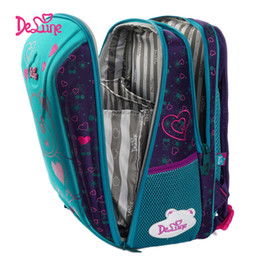 $enCountryForm.capitalKeyWord Australia - Delune New Children School Bags For Girls Boys Orthopedic Backpacks Bear Car Pattern School Backpacks Mochila Infantil Grade 1-5