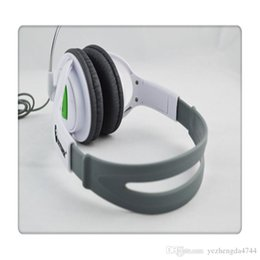 $enCountryForm.capitalKeyWord NZ - Big Gaming Chat Headset Headphone with MIC Microphone Dual overhead phones for stereo sound quality for Xbox 360 White Hot Sale