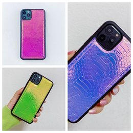 Discount phone case trends Fashion trend two-color imprint skin sticking phone case for iphone 6 6s 7 8 8plus for iphone x xr xs max for iphone 11