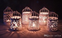 $enCountryForm.capitalKeyWord UK - Metal Vintage Candlesticks Votive Candle Holder Lantern Birdcage Decorative Moroccan Hanging Lantern Home Decoration Accessories