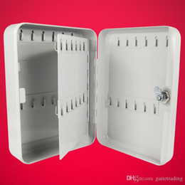 $enCountryForm.capitalKeyWord Australia - metal key box tool case Storage Bin management car wall-mounted key cabinet with 48 key cards Office Hotel facility Property