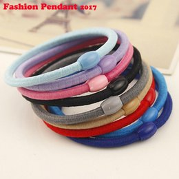 $enCountryForm.capitalKeyWord Australia - 2019 Women Colorful Elastic Hair Bands Ponytail Holder Lady Rubber Bands Tie Gum For Hair Accessories