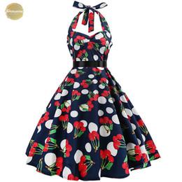 Robe gothic online shopping - Dot Polka Sexy Dress Dresses Audrey Vintage Dress S Gothic Pin Up Rockabilly Dress Plus Size Robe Designer S