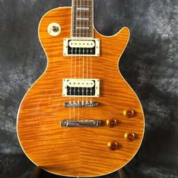 China Quality Guitar Free NZ - Factory direct high quality guitar tiger board cover, LP guitar free shipping high quality in China