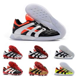 Footballs Shoes Australia - Cheapest Soccer Boots Wholesale PREDATOR ACCELERATOR FG Football Shoes High Quality ACCELERATOR TR Soccer Cleats Big Order Free Shipping
