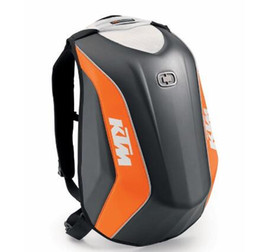 Shell backpackS online shopping - 2018 Hard Carbon Fiber Waterproof Shell motorcycle backpacks locomotive bags for KTM OGIO Mach Motorcycle Racing backpack