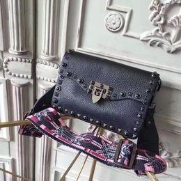 c306c9069c33 Leather Camel Color Tote NZ - AAAAA Top qualit TOTE handbag 2018 NEW rivets  shoulder bag