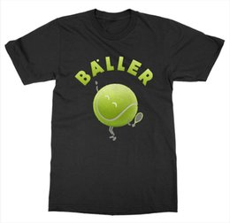 $enCountryForm.capitalKeyWord UK - Baller T-Shirt Tennis Court Net Game Match Grand Slam Love Racket Service Sport