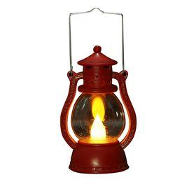 $enCountryForm.capitalKeyWord UK - Flame Haunted House Portable Small Decorative Light Oil Lamp Led Festival Halloween Party Lightweight Scene JK0218A