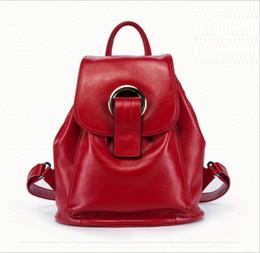 Multi Function Handbag Backpack NZ - 2019 new leather shoulder bag female Korean version of the tide fashion leather handbags multi-function portable backpack
