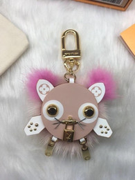 $enCountryForm.capitalKeyWord Australia - Chain M63093 Pink New 2019 Eclipse Dragonne & M61950 Facettes Bag Holder Tapage Charm Key Holders