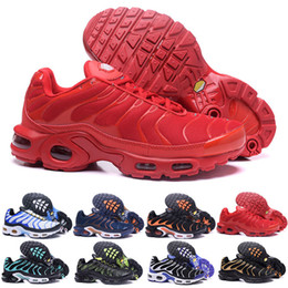 cheap top quality running shoes 2019 - Fast Shipping 2018 Top Quality MENs Air TN RunnING ShOes ChEAp BASKET REQUIN Breathable MESH CHAUSSURES HoMMe noir Zapat