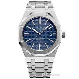venda por atacado 2019 venda quente 42mm Movimento Automático Mens Relógios Tampa Transparente Homem de Aço Inoxidável Completa Luminosa Negócio Mens Relógio de Pulso Livre Shippin