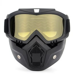 af7d7378f98 EDC Motorcycle Helmet Outdoors Off Road Equipment Riding Outdoor Eyewear  Harley Goggles Mask Sunglasses Dustproof Sand Prevention 25sx A1
