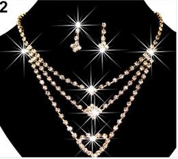 Coral Hair Accessories Australia - hair accessories for women tiara crowns hair pins bridal tiaras Wedding Wedding Set Set Chain Claw Chain Rhinestone Alloy Necklace