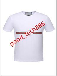 9256b33f86 8 Fotos Etiquetas de camisa ? venda-2019 nova marca maré de algodão  mulheres homens t-