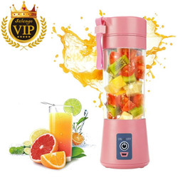 Portable Blender USB Fruit Mixer Mini Juicer Cup Juice Machine Smoothie Maker Blenders Household Small Juice Extractor Baby Food on Sale