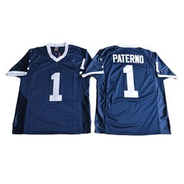 $enCountryForm.capitalKeyWord UK - Mens Penn State Nittany Lions JOE PATERNO Stitched Name&Number American College Football Jersey Size S-3XL